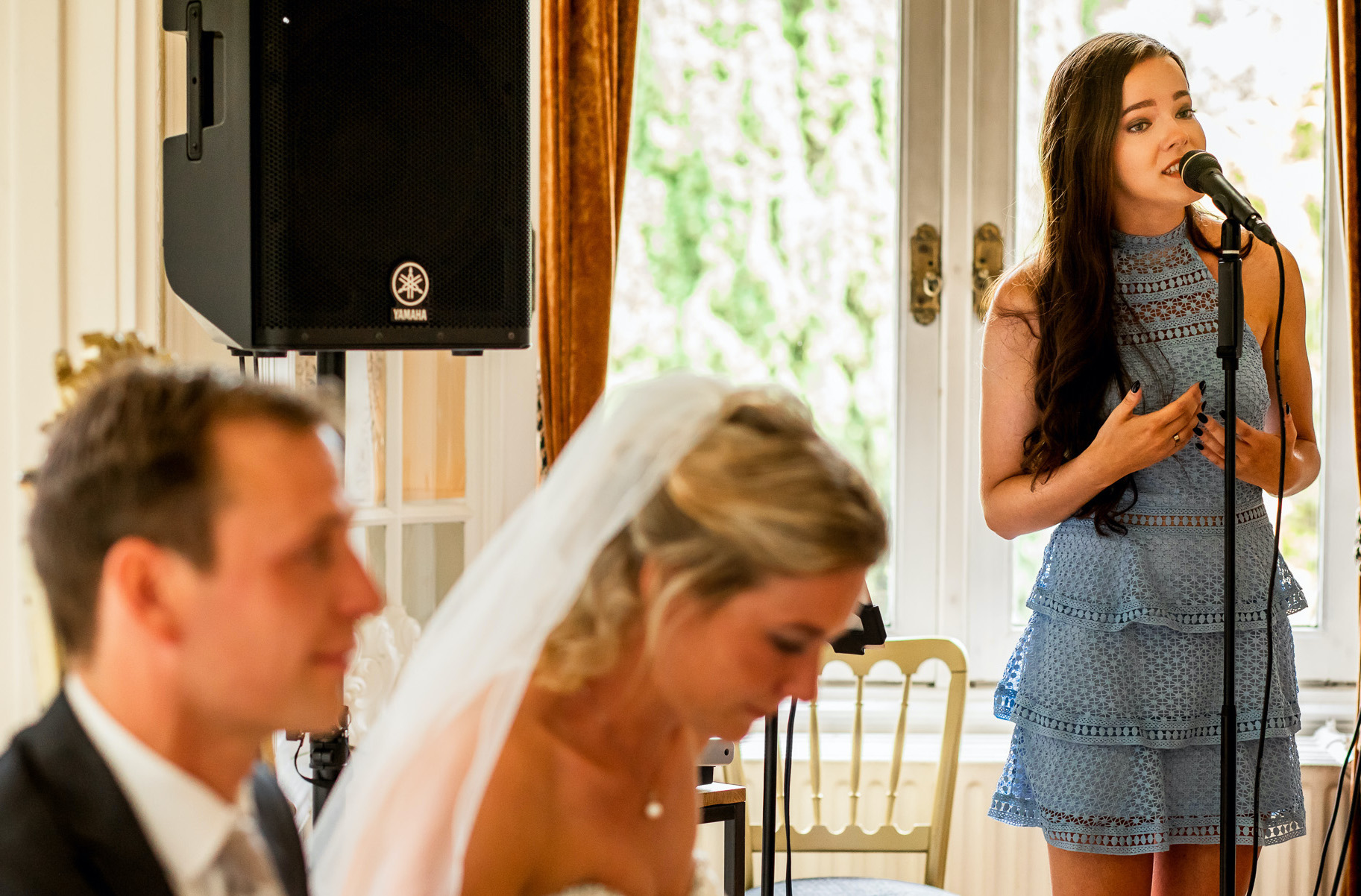 Huwelijks zangeres Myrthe Hendriks